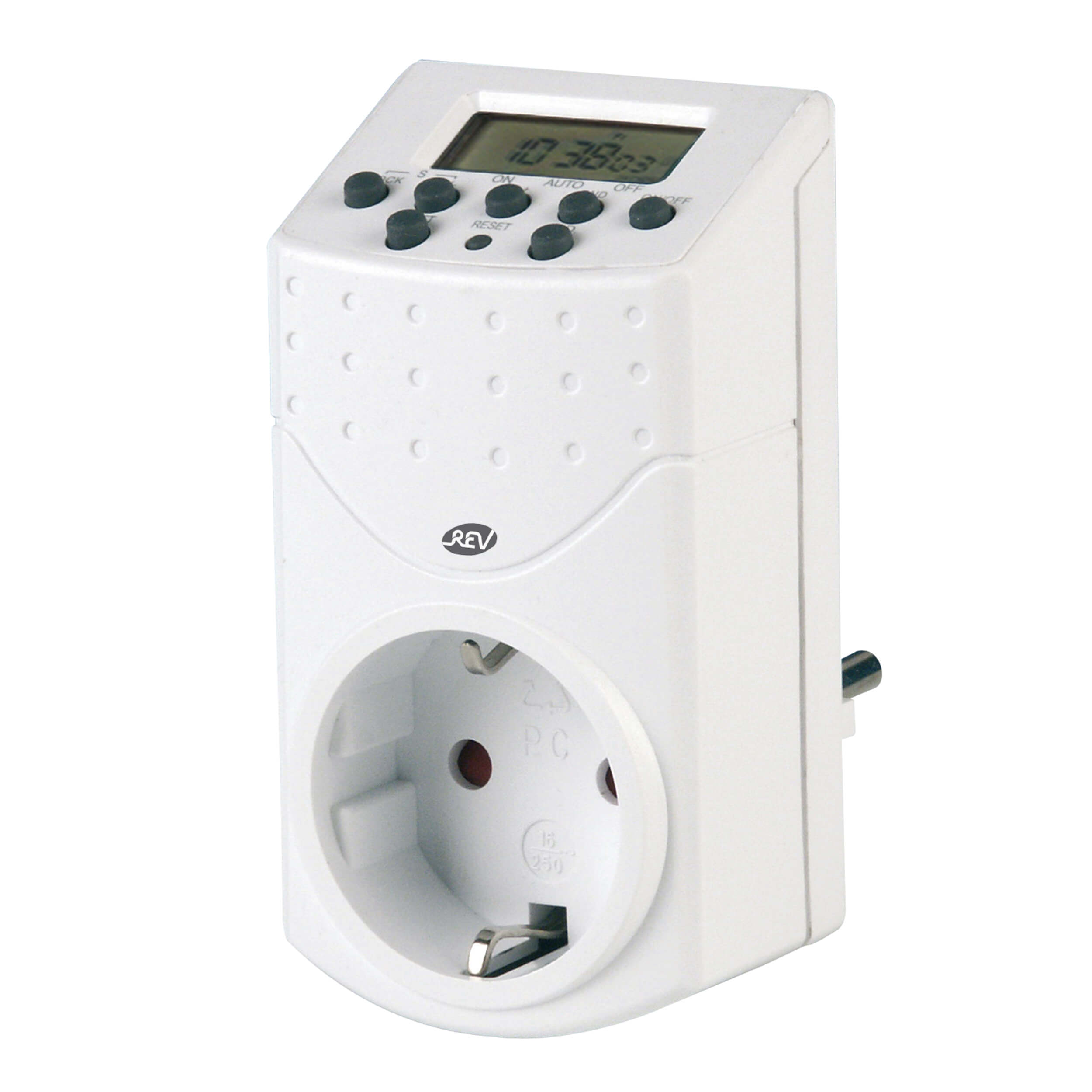 Zeitschaltuhr digital für den Innenbereich, bis 1800W, 20 Schaltzeiten am Tag